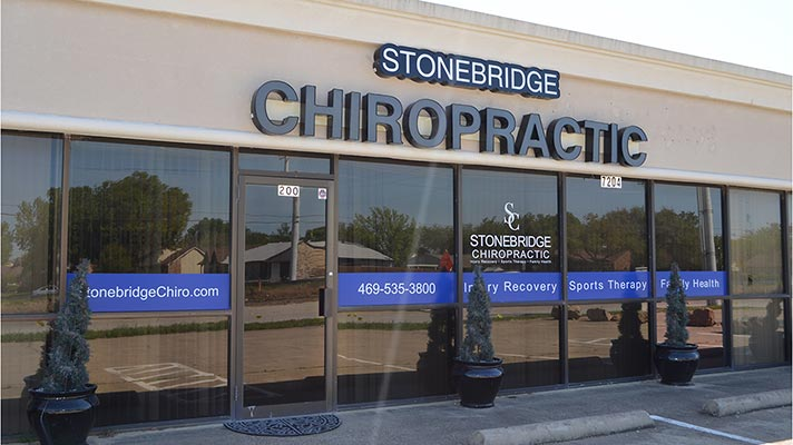 Chiropractic The Colony TX Office Building