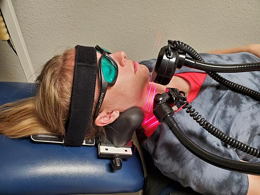 Chiropractic The Colony TX Cold Laser Therapy