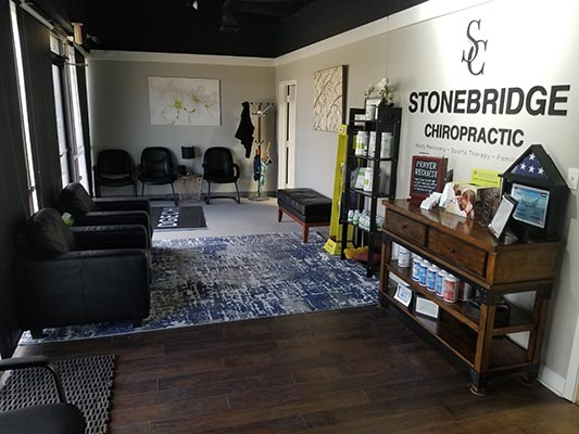 Chiropractic The Colony TX Waiting Space